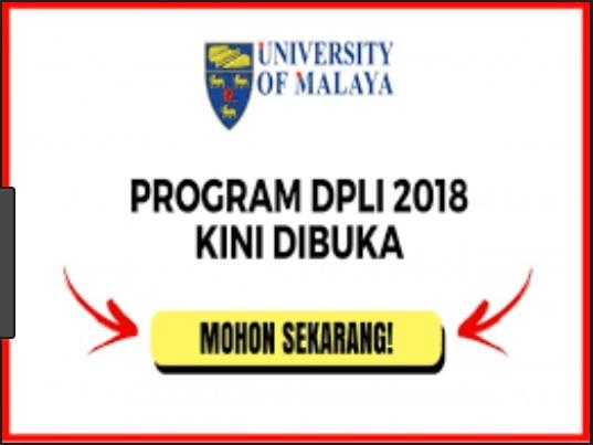 Permohonan Program Diploma Pendidikan Lepasan Ijazah Dpli Universiti Malaya 2018 Aku Budak Trolak