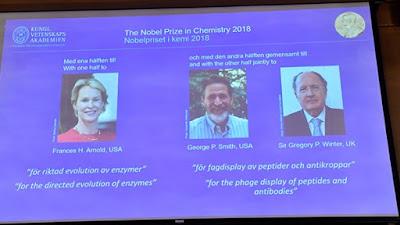 جائزة نوبل للكيمياء