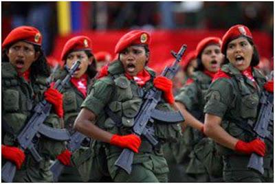 El discurso de la Fuerza Armada Nacional Bolivariana