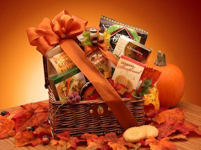 Kim's La Bella Baskets Fall Snack Chest Gift Basket