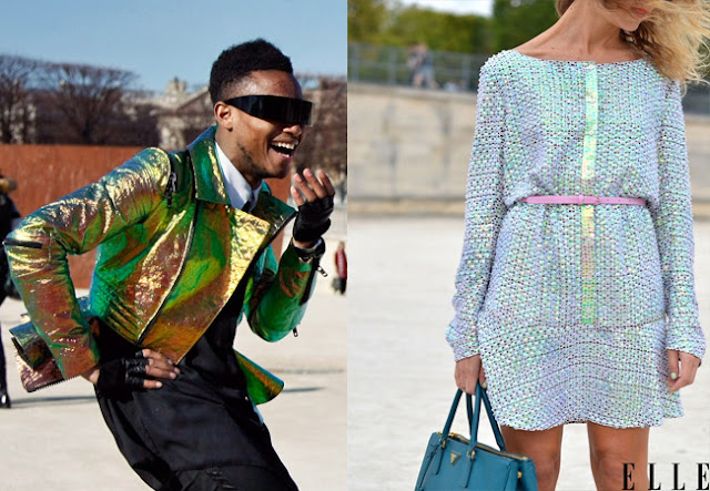 hologram, holographic, fashion trend