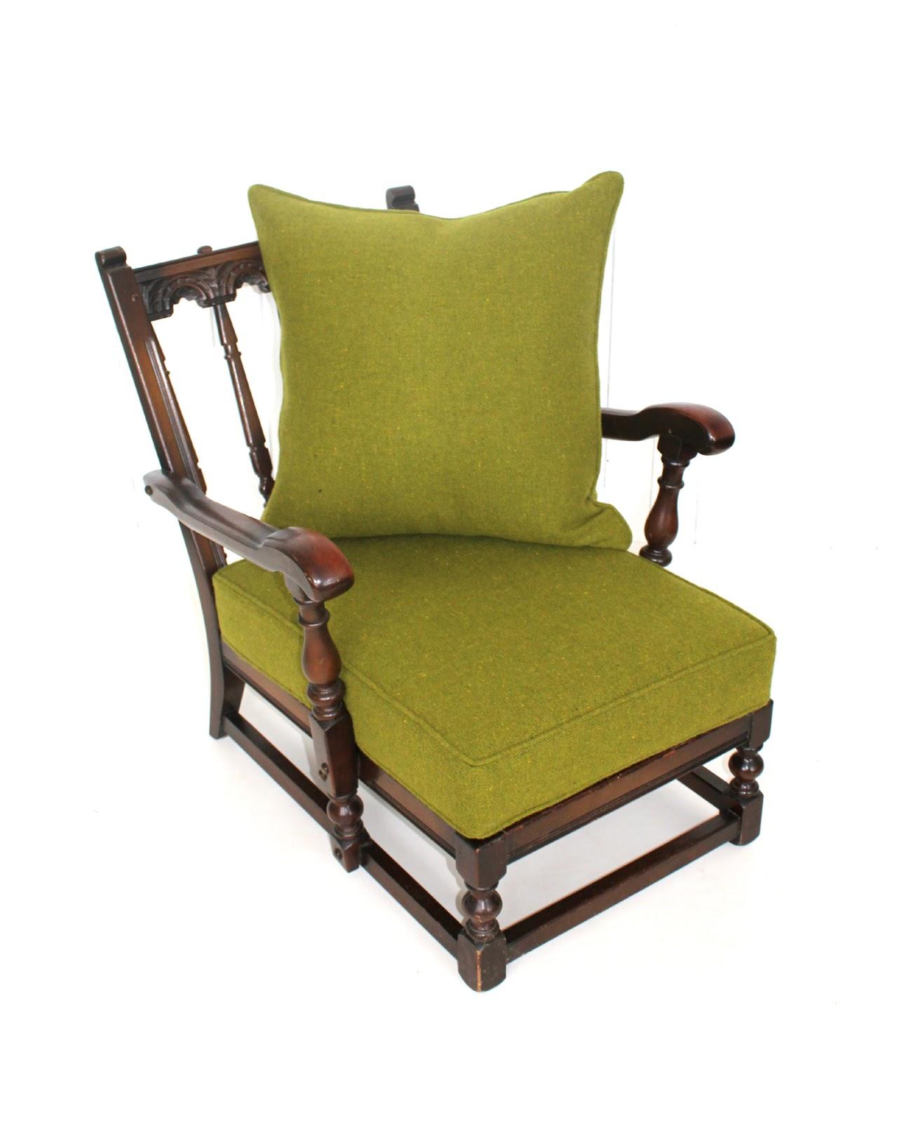 Mick Sheridan Upholstery Ercol Old Colonial Suite in Bute tweed
