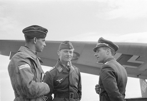 German pilots in Malmi, Helsinki 25 June 1941 worldwartwo.filminspector.com