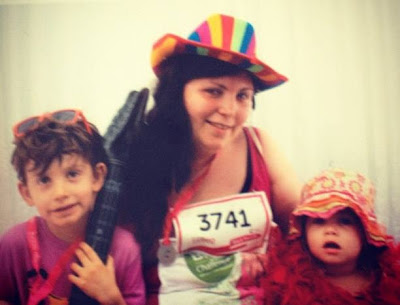 Me and my monsters at Race for life