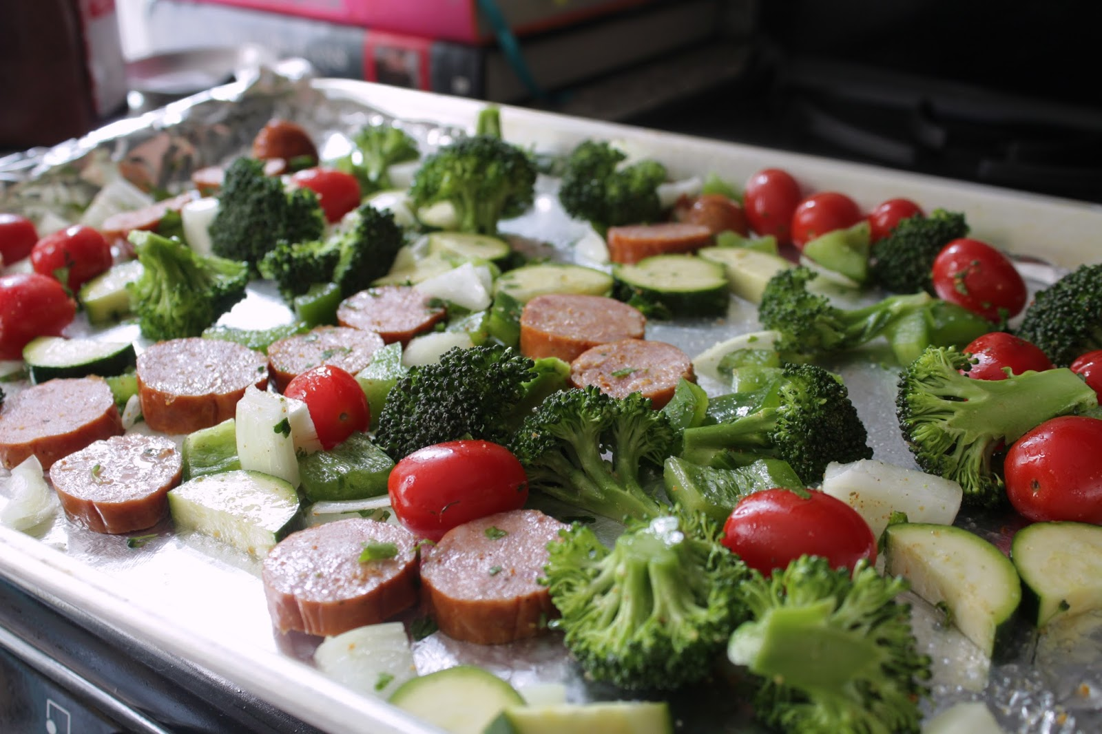Sausage and Veggie Sheet Pan Dinner