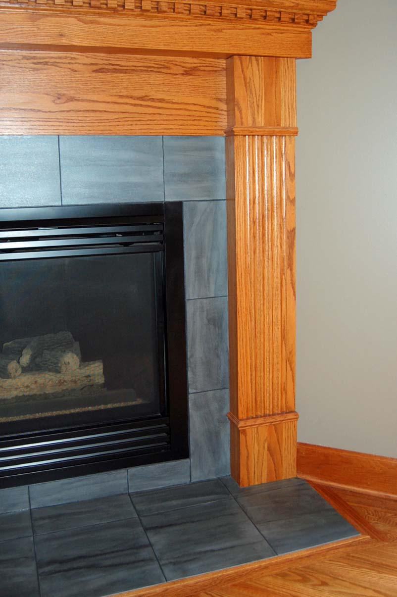 Davis Creative Painting Painted Fireplace Tile