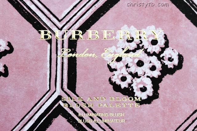 Румяна Burberry Silk and Bloom blush palette (LE Spring 2017)