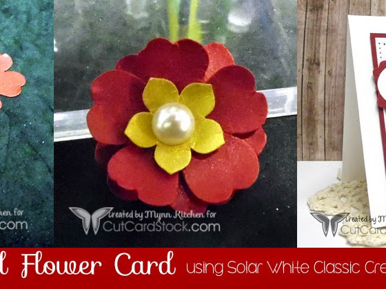 3D Layered Flower Card