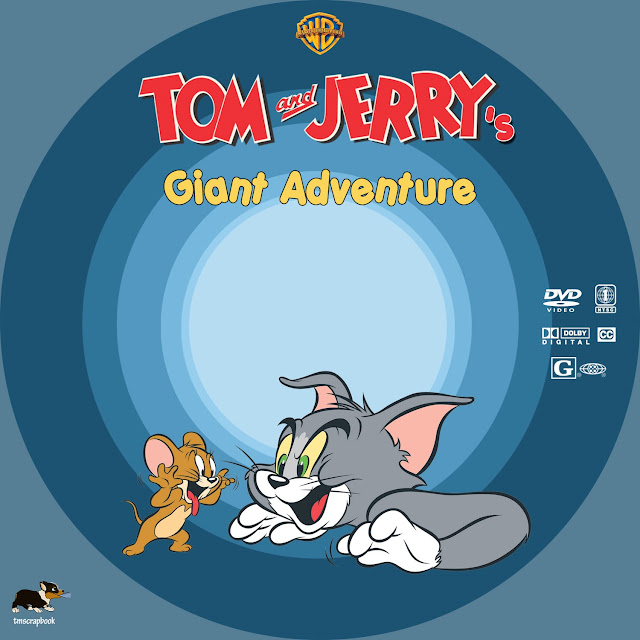 Tom and Jerry's Giant Adventure DVD Label