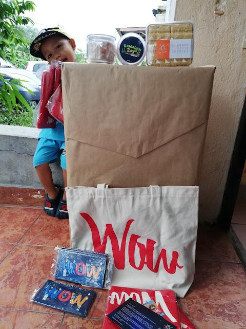 Surprise Dari CJ WOW Shop Ketika Sambut Ramadhan dan Syawal