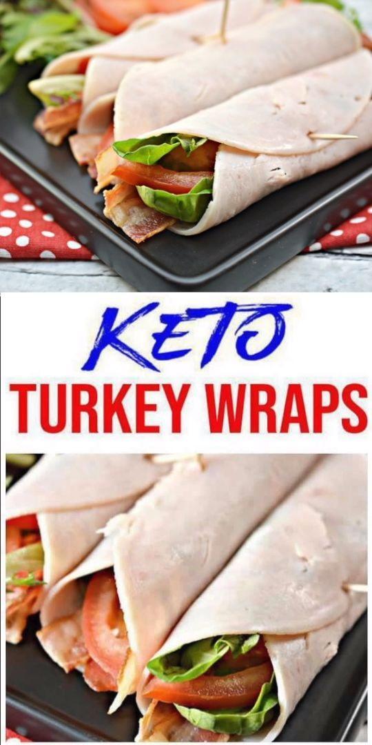 Keto Turkey BLT Wraps
