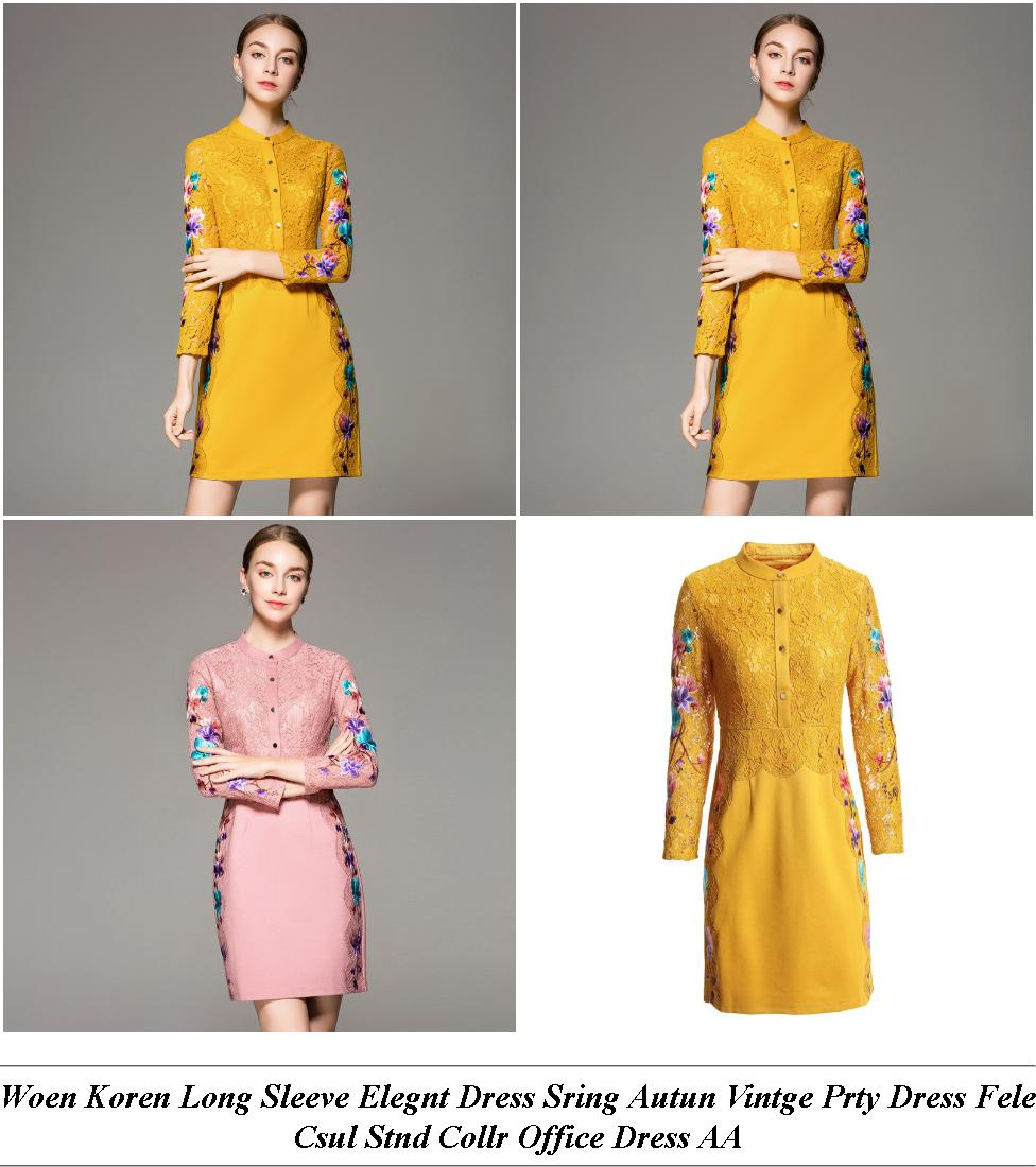 Clothing Dresses Online - New Year Clearance Sale - Green Floral Midi Dress With Sleeves