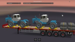 Doll trailer with Farming Simulator Cargo Pack