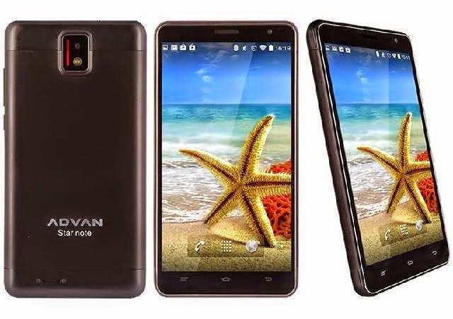 Harga Dan Spesifikasi Advan Star Note S5L Terbaru