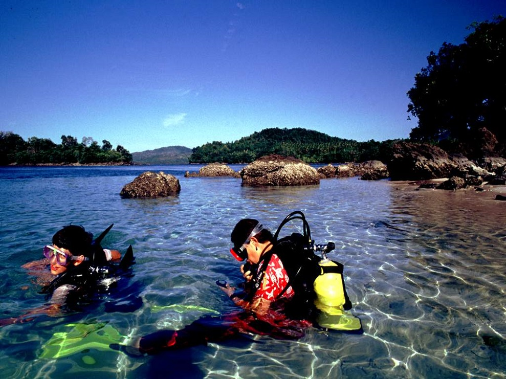 Pantai iboih surganya diving