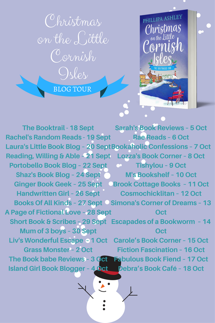 CHRISTMAS ON THE LITTLE CORNISH ISLES BLOG TOUR