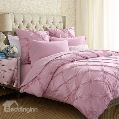 Retro Pink 6-Piece Duvet Cover Sets