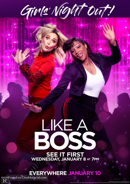 Like a Boss 2020 Dual Audio [Hindi DD5.1] 720p BluRay ESubs Download