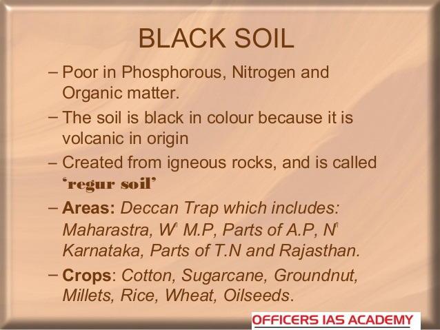 Ias preparation simplified like never before major soil for What is the origin of soil