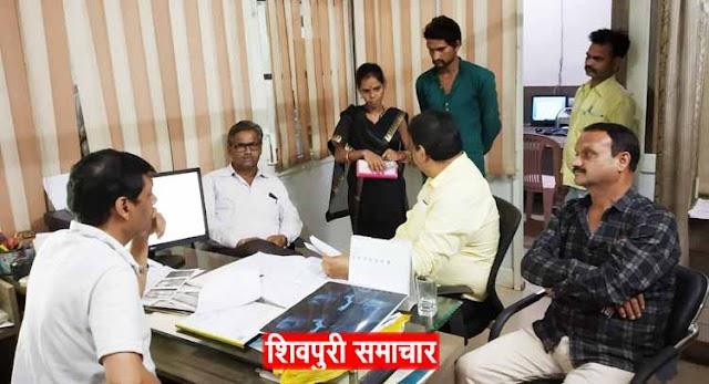 कल्पना अल्ट्रासाउण्ड का PCPNDT के दल ने निरीक्षण किया | Shivpuri News