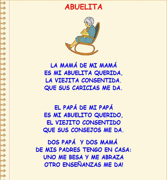 Poema Para Una Abuelita Imagui