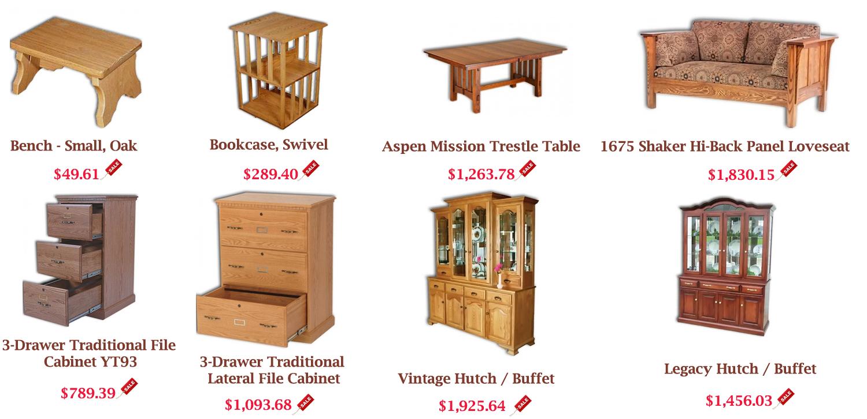 Online Amish Furnitures