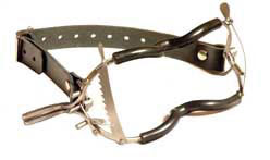 Jennings Dental Gag with PVC Coating and Leather Buckle Strap