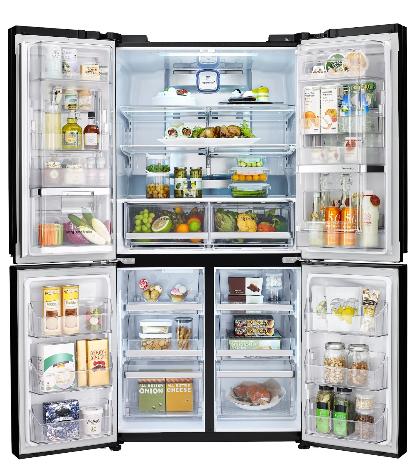 Introducing Lg Side By Side Refrigerator Indias Largest Capacity