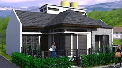 Model Rumah Minimalis 1 Lantai Modern Terbaru