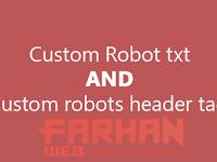 Cara Mengatur Robots.txt Khusus dan Tag Tajuk Robot Khusus pada Blogger