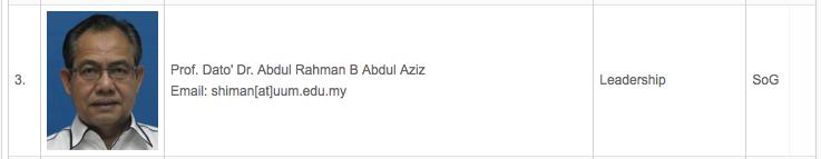 Abdul Rahman Abdul Aziz