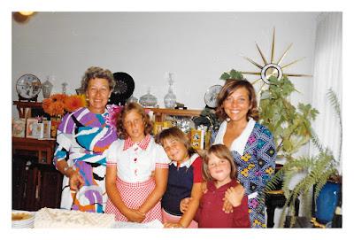 Natalie Vasilev, Tasha Thomson aka Natalie D. Moore, Rhea Thomson aka Marie Thomson, Sean Sarsfield, and Elena Vasilev at 2678 McAllister Street in San Francisco