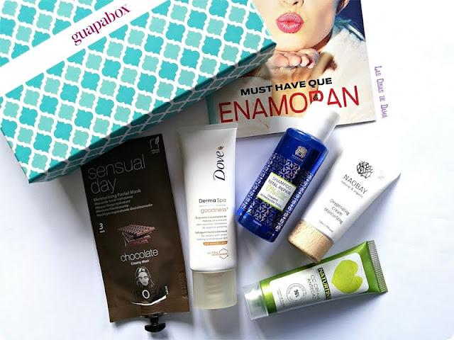 Guapabox febrero Beauty Box Suscripción belleza facial cabello manos