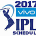 VIVO IPL 2017 Schedule.