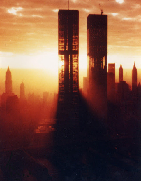 Twin Towers World Trade Center Construction