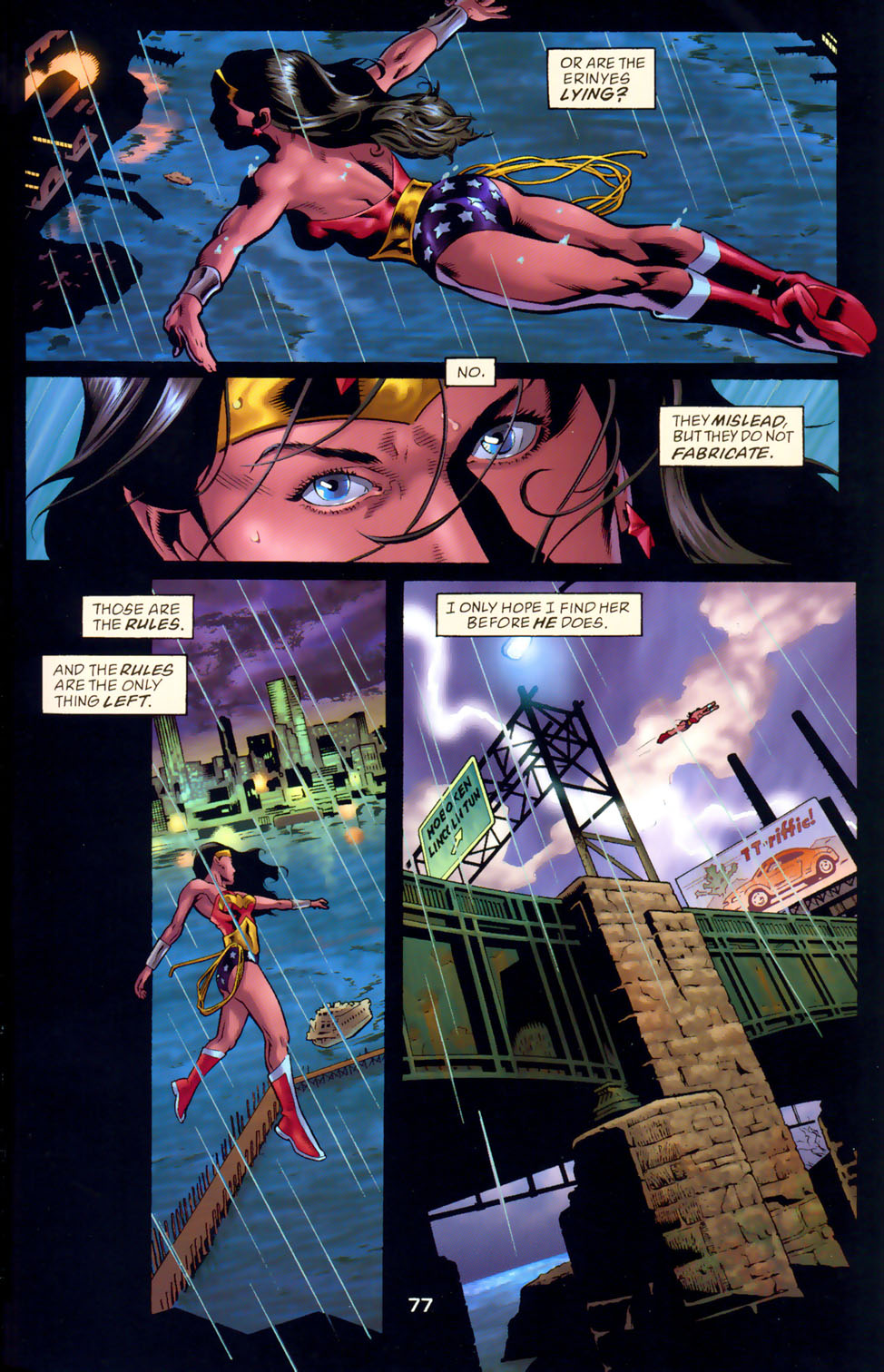 Read online Wonder Woman: The Hiketeia comic -  Issue # Full - 87