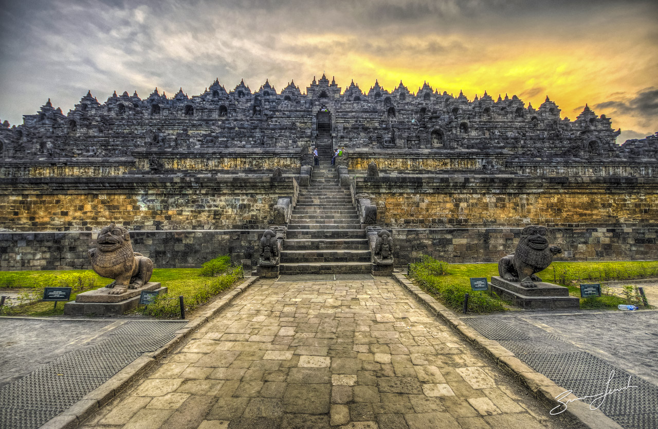 Borobudur Temple History Indonesia Historical