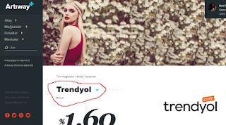 Artıway Trendyol bonus