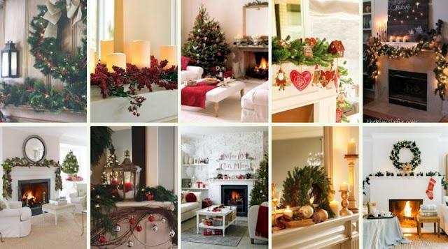 50+ Χριστουγεννιάτικες Διακοσμήσεις για το Τζάκι