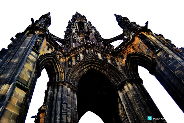 bowdywanders.com Singapore Travel Blog Philippines Photo :: Scotland :: The Scott Monument: Photos From The Most Musing Place in Edinburgh