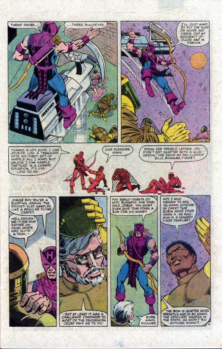 Hawkeye (1983) Issue #1 #1 - English 5