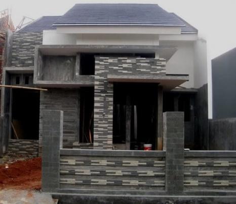 63 Teras Rumah Minimalis Batu Alam Yang Tampak Natural Dan Asri