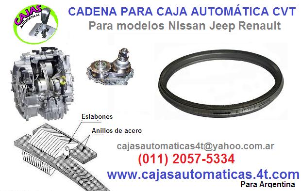 Cadena cvt jeep compass