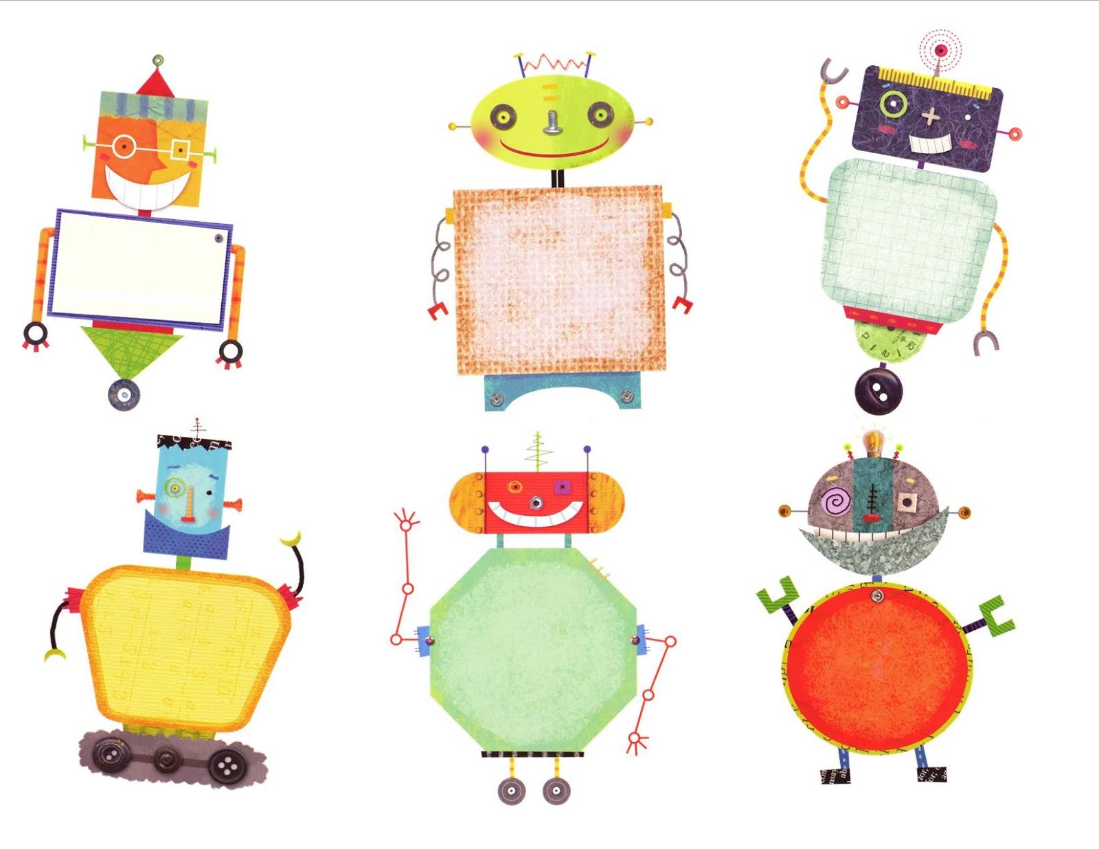 cute robot clipart - photo #50