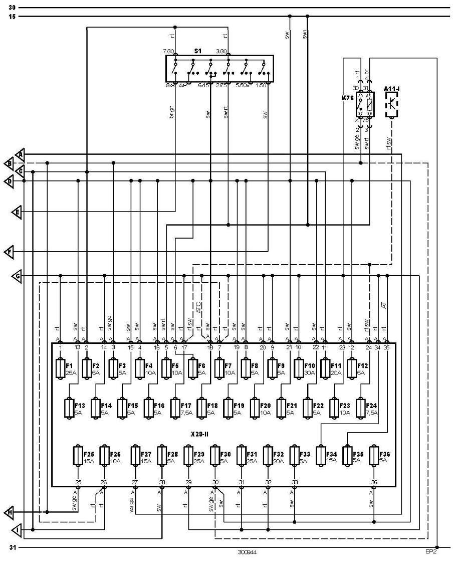 a11 i multifunction control module 1 power distribution interior fuse volkswagen transporter  [ 918 x 1139 Pixel ]