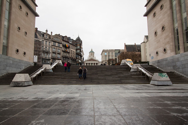 Mont des arts-Convention centre-Bruxelles