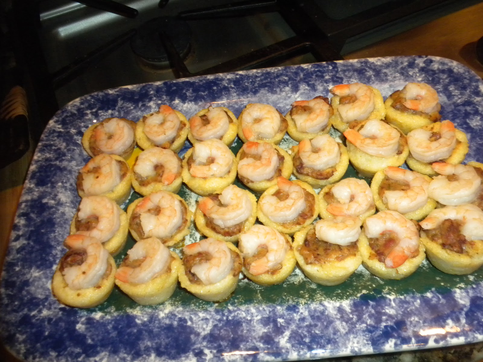 Sunday Supper Grits And Champagne Shrimp And Grits Tarts