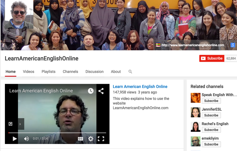 5 Good YouTube Channels for Learning English | Educational