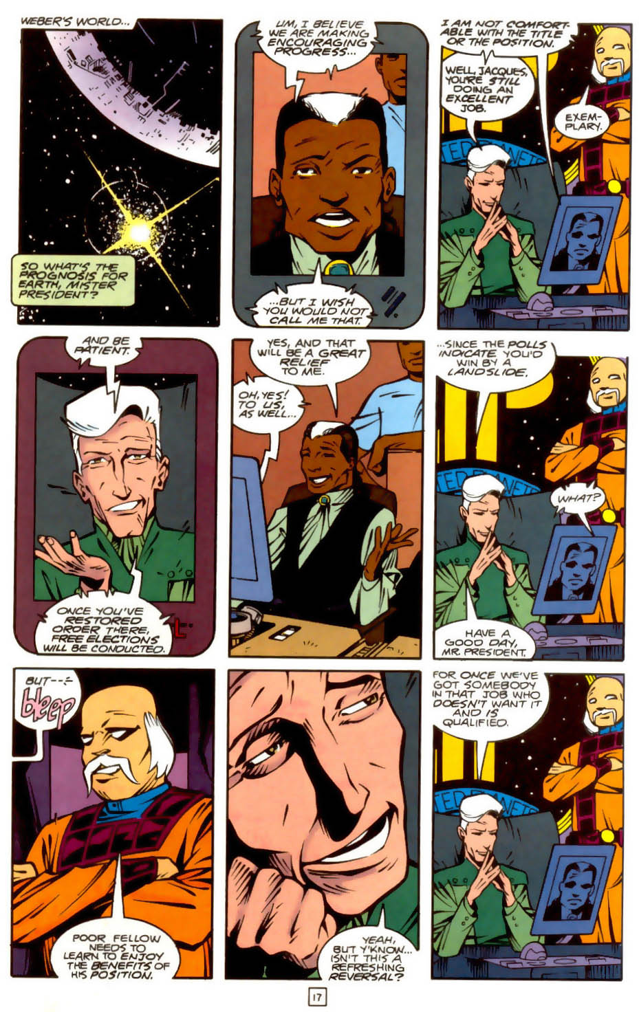 Legion of Super-Heroes (1989) 36 Page 17