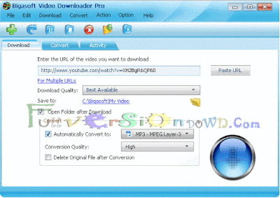 Bigasoft Video Downloader Pro 3.11.2.5924 Full Version